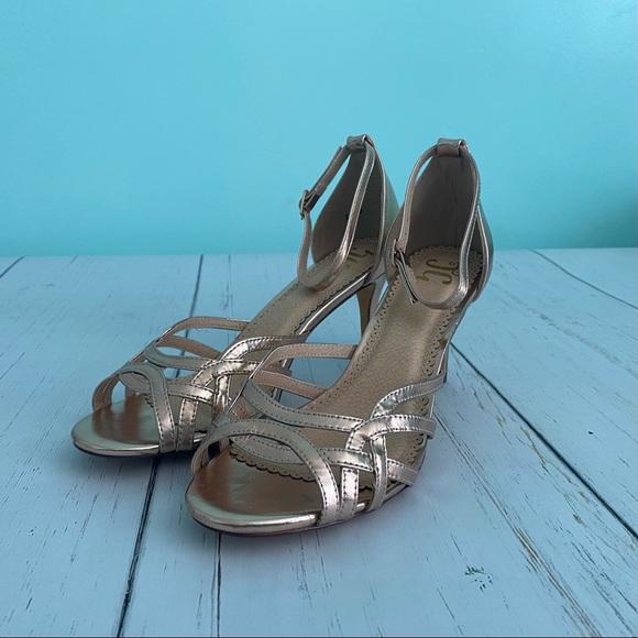 JG Moyra Rose Gold High Heel Shoes 9
